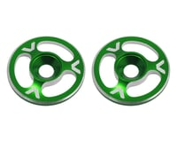 Avid RC Triad Wing Mount Buttons (2) (Green) (S-Workz S350 BE1)