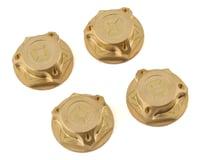 Avid RC Triad 17mm Brass Capped Wheel Nut Set (4) (XRAY XB8E)
