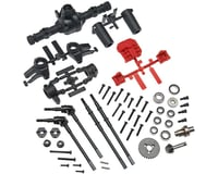 Axial SCX10 II AR44 Complete Locked Axle Set (Build Front or Rear)