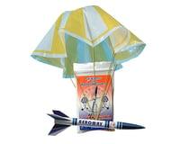 Aeromax 8  Plastic Parachute 3-Pak (Rocket Recovery)