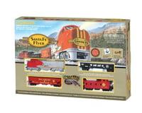 Bachmann Santa Fe Flyer Train Set (HO Scale)