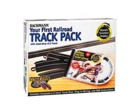 Bachmann E-Z Steel Alloy First Railroad Track Pack (HO Scale)