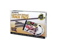 Bachmann World's Greatest Hobby First Railroad Track Pack (N Scale)