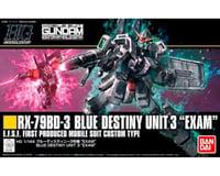 Bandai 222262 1/144 Blue Destiny Unit (Exam) Gundam HG