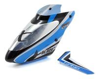 Blade Nano CP X Complete Blue Canopy w/Vertical Fin