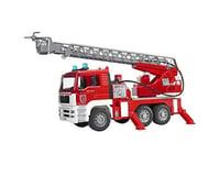 Bruder Toys 1/16 MAN Fire Engine w/Pump/Light & Sound