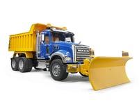 Bruder Toys Mack Granite Dump Truck w/Snow Blow Blade