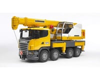 Bruder Toys Scania Leibherr Crane Truck w/Light/Sound