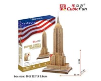 """Cubic Fun CubicFun 3D Puzzle """"The Empire State Building - New York"""""""
