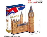 Cubic Fun CubicFun MC087H Big Ben Puzzle