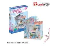 Cubic Fun CubicFun P683h Dollhouse - Seaside Villa Puzzle, 112 Pieces