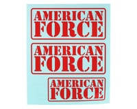 CEN Ford F450 American Force Decal (Red)