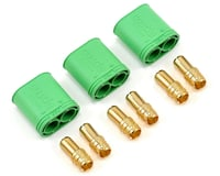 Castle Creations 6.5mm Polarized Bullet Connector (3) (Male)
