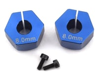 Custom Works 12mm Outlaw 4 Clamping Hex (2) (+8mm Offset) (5mm Axle)