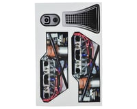 Custom Works Outlaw 3 Knoxville Sprint Body Motor Decals