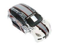 Dromida Body Printed w/Decals Gray/Red Rally Car FPV