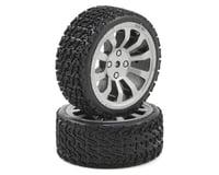Dromida 1/18 Rally Wheel/Tire Assembly (2)