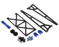 DragRace Concepts Slider Wheelie Bar w/Plastic Wheels (Blue)