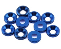 DragRace Concepts 3mm Countersunk Washers (Blue) (10)