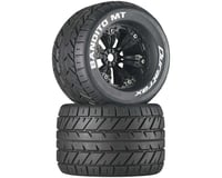 """DuraTrax Bandito MT 3.8"""" Mounted Truck Tires (Black) (2) (1/2 Offset)"""