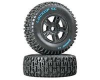Lockup SC Tire C2 Mounted Black Front: SC10 (2)