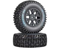 DuraTrax Lockup SC Tire C2 Mounted: SC10 4x4 (2)