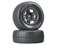 DuraTrax Posse Pre-Mounted Short Course Tire (Black) (2) (Soft - C2) (Arrma Fury)