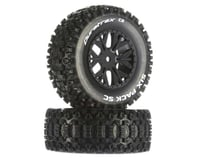 DuraTrax Six-Pack Team Associated SC10 4x4 SC Mounted Tires (2) (C2)