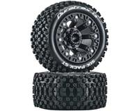 "DuraTrax Six Pack ST 2.2"" Tires (Black) (2)"