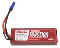 Dynamite Reaction HD 2S 50C Hard Case LiPo Battery w/EC5 (7.4V/5000mAh) (Pro Boat Sonicwake 36)