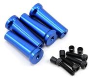 Evolution 45mm Gas Engine Mount Standoff Set (Blue) (4)