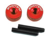 Exotek M3 Twist Nut (Red) (Kyosho Lazer ZX-6)