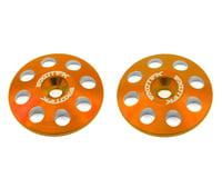 Exotek 22mm 1/8 XL Aluminum Wing Buttons (2) (Orange) (HB Racing Ve8)