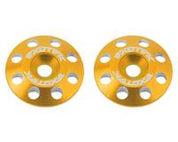 Exotek Flite V2 16mm Aluminum Wing Buttons (2) (Gold) (S-Workz S12-1MR)