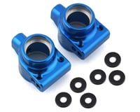 Exotek DR10 Aluminum Rear Hubs (Blue) (2)