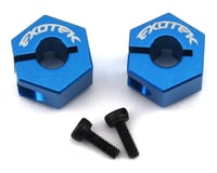 Exotek DR10 Aluminum Rear Clamping Hex (2)
