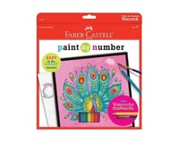 Faber-Castell - Paint By Number Peacock Art Kit