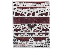 "Firebrand RC Rust Rod Decal Sheet (8.5""X11"")"