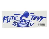 """Flite Test P40 10.5"""" Die Cut Gremlin Logo Vinyl Decal (Blue)"""