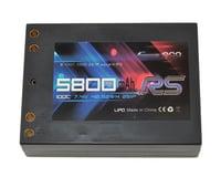 Gens Ace Race Spec 2S Square LiPo Battery Pack 100C (7.4V/5800mAh) (S-Workz S12-1MR)