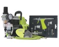 Grex Airbrush Grex GCK02 Airbrush Combo Kit with Tritium.TS3 Airbrush, AC1810-A Compressor