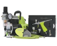 Grex Airbrush Grex GCK03 Airbrush Combo Kit with Tritium.TG3 Airbrush, AC1810-A Compressor
