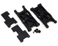 HB Racing E817 V2 Rear Suspension Arm Set (Hard)