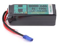 Helios RC 4S 100C LiPo Battery w/EC5 Connector (14.8V/8000mAh)