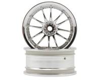 "HPI 12mm Hex 26mm ""Work XSA 02 C"" Wheel (2) (6mm Offset) (Chrome)"
