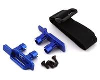 Hot Racing Traxxas Maxx Tall Battery Hold-Downs (Blue)