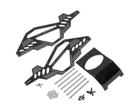 Hot Racing Alum Rock Racer Conversion Chassis Black Axial AX10