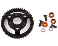 Hot Racing Traxxas 32P Steel Spur Gear (Orange) (50T)