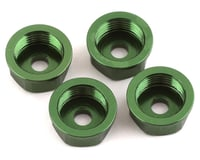 Team Integy Axial AX10 Scorpion Alloy Lower Shock Cover (Green) (4)