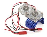 Team Integy Super Twin Fan 540/550 Motor Heatsink (Blue)